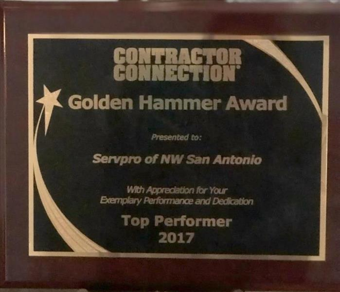 Why SERVPRO Award-winning Customer Service at SERVPRO of Northwest San Antonio